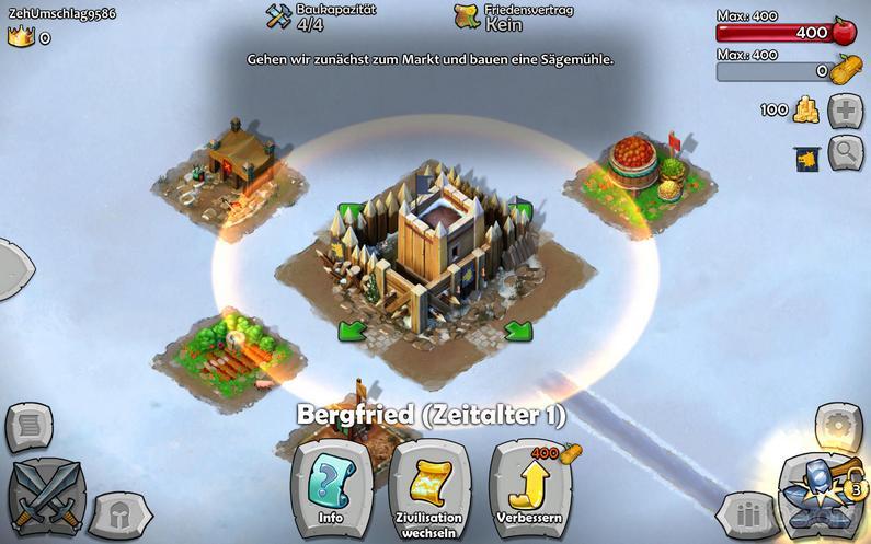 Age of Empires: Castle Siege - der Beginn