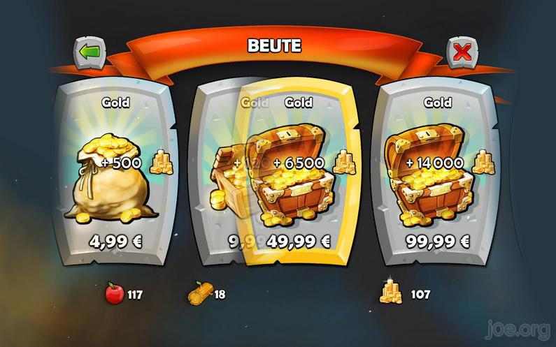 AoE Castel Siege - Gold kaufen - bis 99,99 Euro