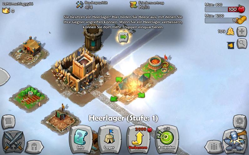 AoE Castel Siege - Heerlager erstellen