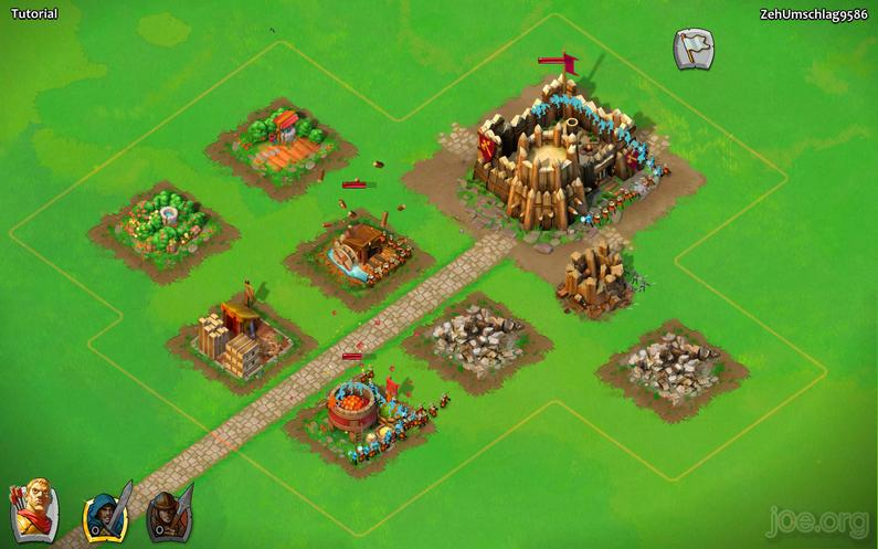 AoE Castel Siege - Mein erster Angriff